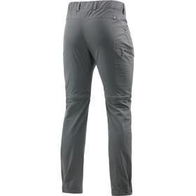 Haglöfs Lite Spodnie z odpinanymi nogawkami Mężczyźni, magnetite